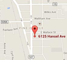Directions to Southern Pine Lumber Company's Orlando Location