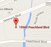 Directions to Southern Pine Lumber Company's Port Charlotte Location