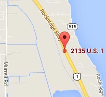 Directions to Southern Pine Lumber Company's Rockledge Location