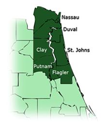 Ponte Vedra Florida Southern Pine Lumber location