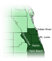Stuart Florida Contractor Location | Southern Pine Lumber Company