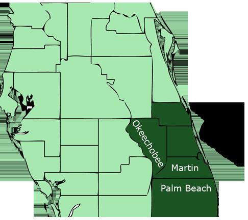 Stuart Florida Southern Pine Lumber location
