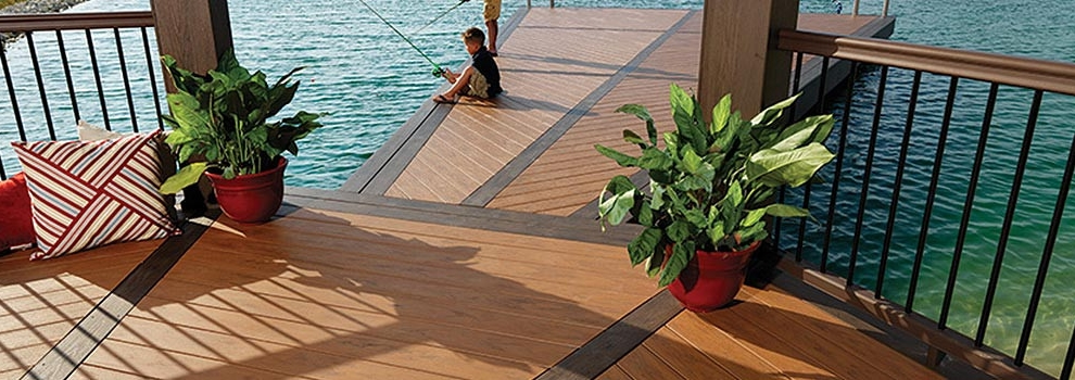 AZEK Deck XLM Tropical and Natural Collection