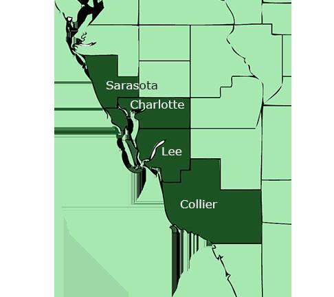 Port Charlotte Florida Southern Pine Lumber location